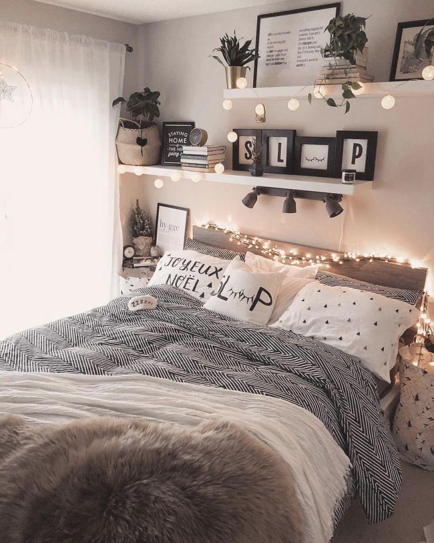 Simple Bedroom Decorating Ideas - Houzdeco within Bedroom ...
