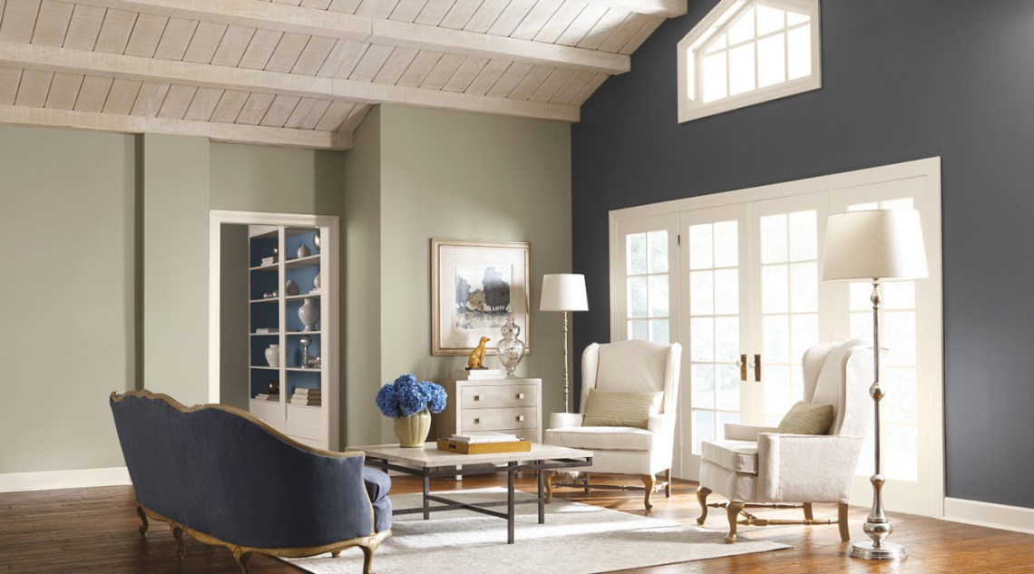 Living Room Paint Color Ideas With Dark Brown Furniture Awesome Decors
