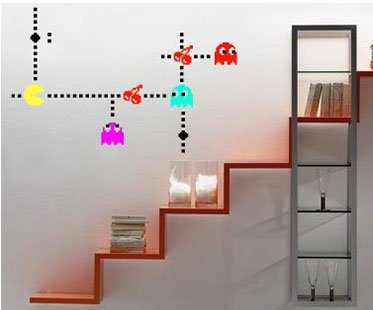 Pac Man Wall Decals