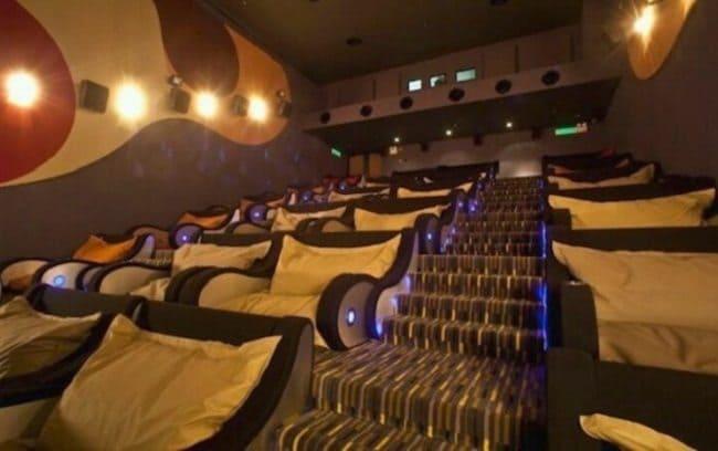 bean bag cinema
