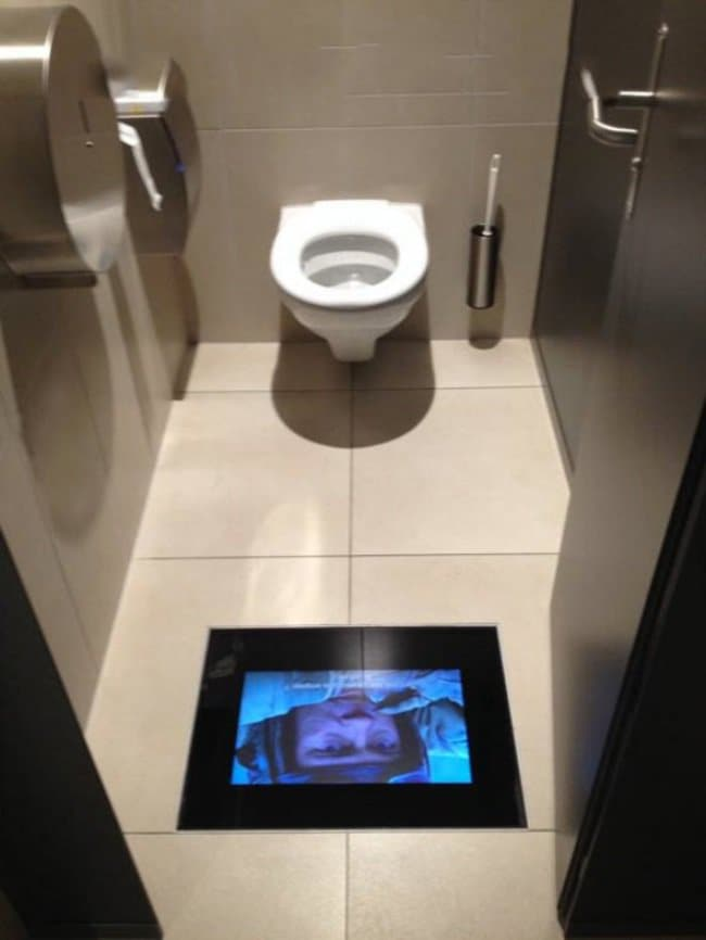 cinema toilet