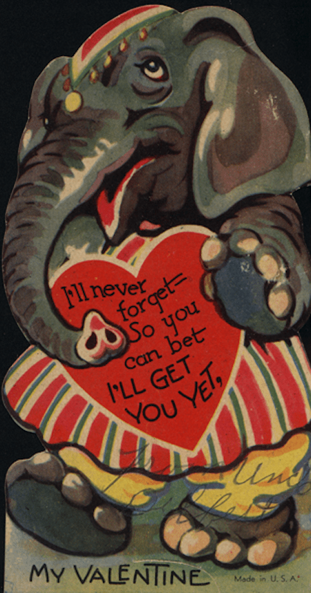 14 Strange And Funny Vintage Valentines Day Cards