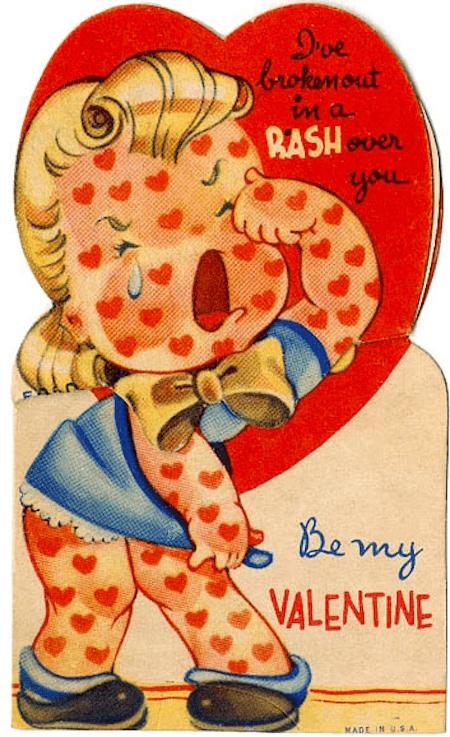 14 Strange And Funny Vintage Valentines Day Cards