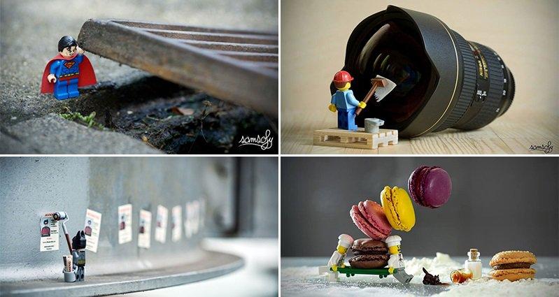 This Photographer Arranges Adorable Miniature Lego Adventures