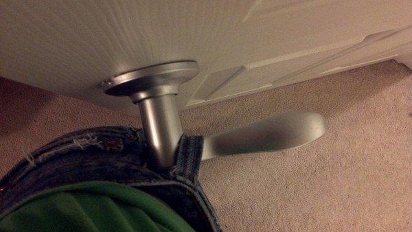 jeans loop door handle
