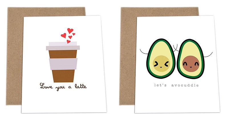 Impaper Has Created The Most Adorably Punny Greeting Cards