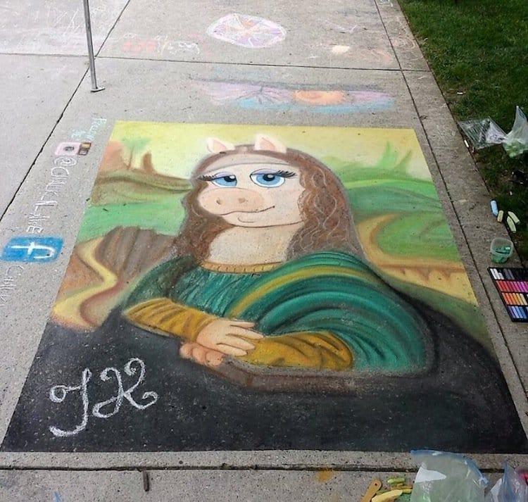Chalk Wall Drawing Ideas
