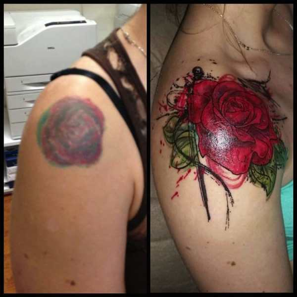 bad tattoos that were covered up