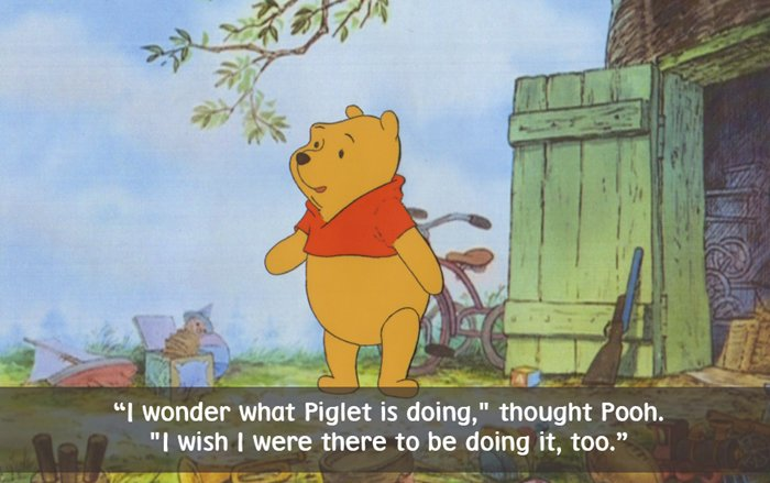 14 Awesome  Winnie The Pooh  Quotes That Will Make You Smile best winnie the pooh quotes with piglet
