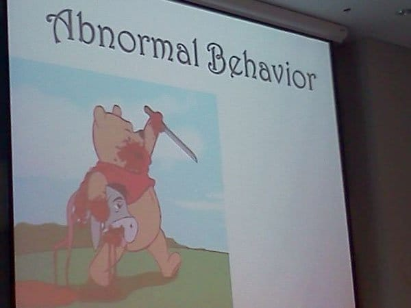Behavior Winnie Abnormal Pooh
