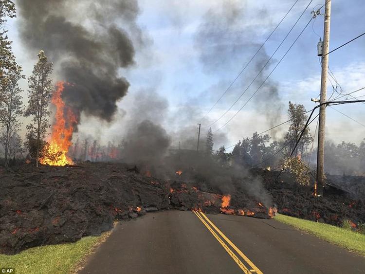 lava flow cool photos