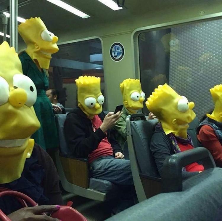 passengers-bart-simpson-masks-insane-photos
