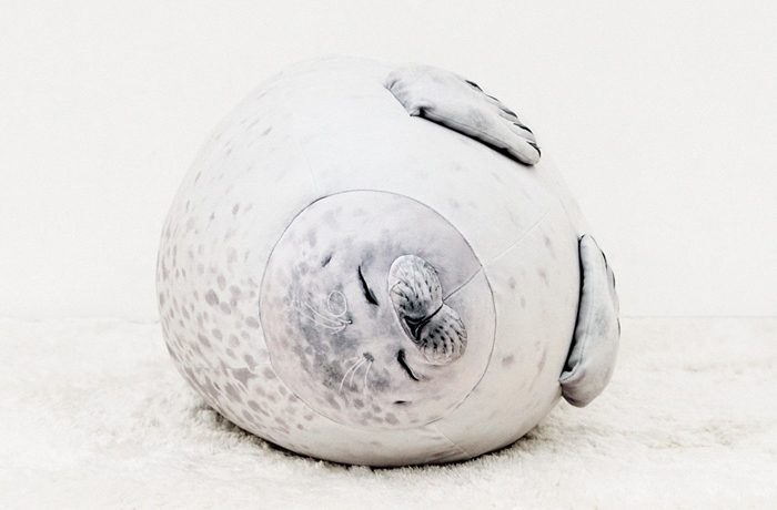 everybody needs a blob seal pillow in