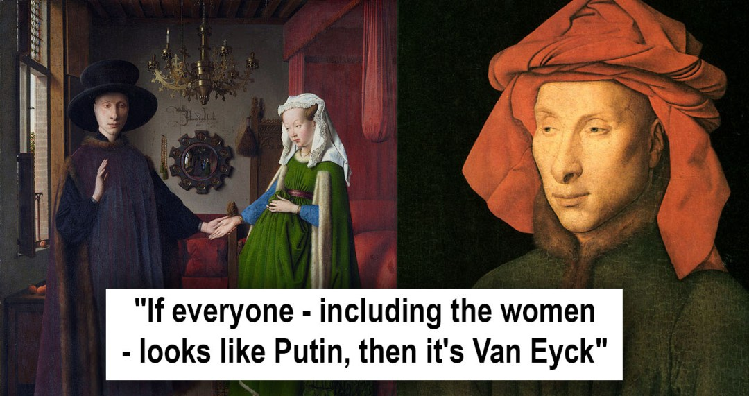 Image result for Van Eyck, putin