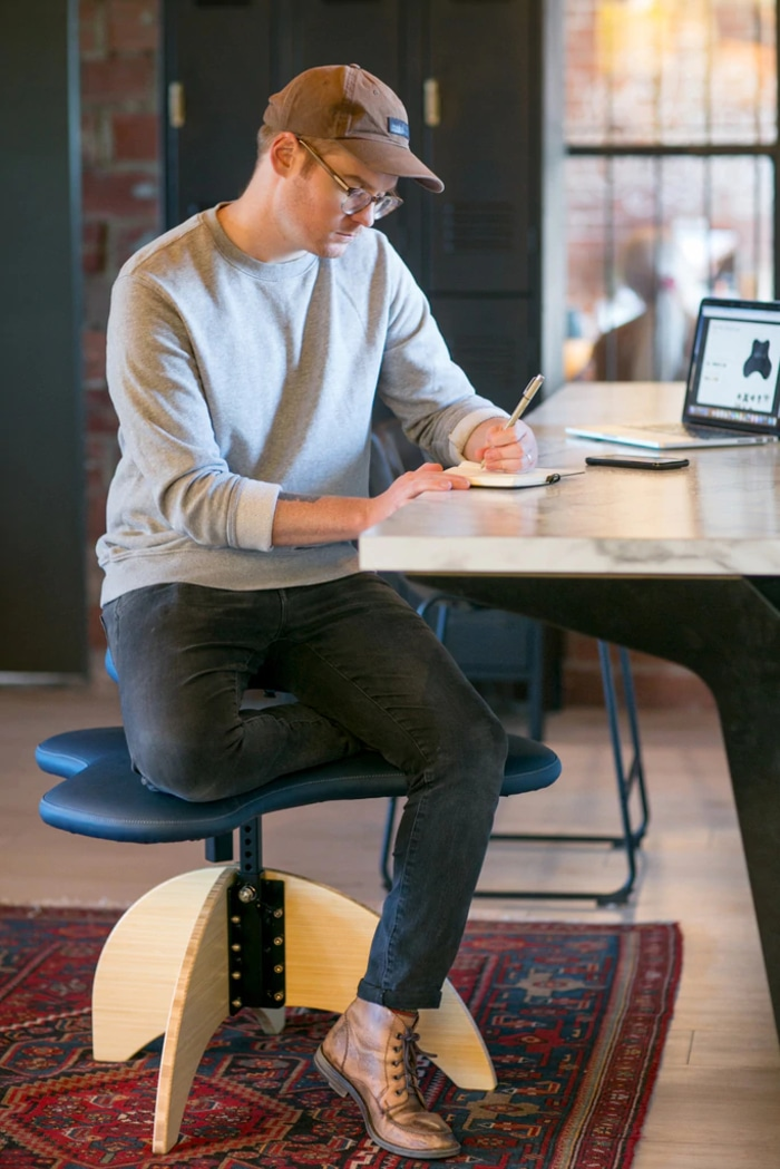 The Soul Seat Is An Office Chair That Lets You Sit In