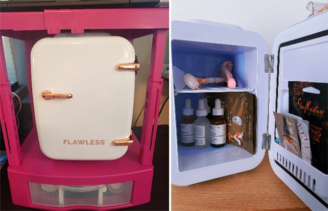 beauty fridge for skincare products