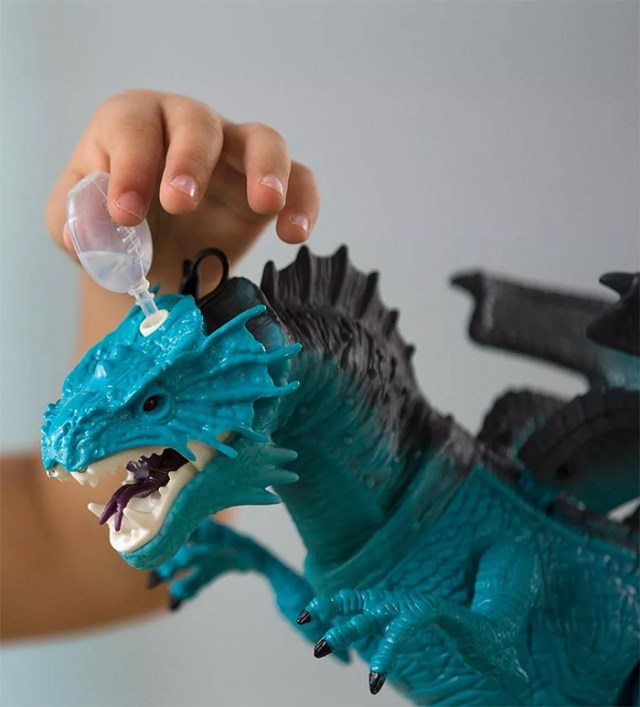 animated action figure water dropper