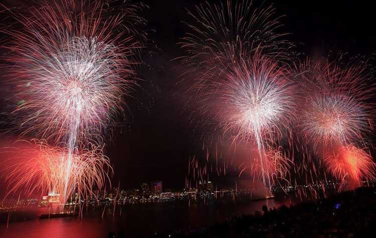 Fireworks In Michigan - The Awesome Mitten
