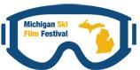 The Awesome Mitten - Michigan Ski Film Festival Logo