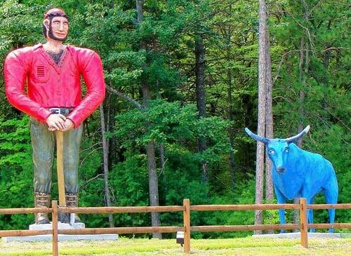 Paul Bunyan, The Original Lumberjack