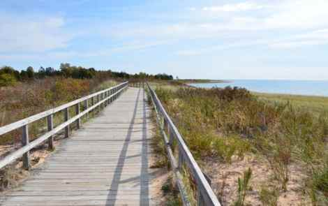 Seven Cool Stops in Manistique