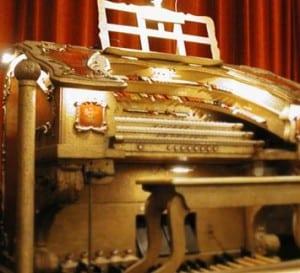 The Barton Theatre Pipe Organ. Photo courtesy of the Michigan Theater.