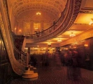 The interior of the theatre has been fully restored. Photo courtesy of the Michigan Theater.