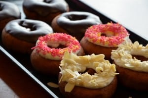 the bakery shoppe doughnuts