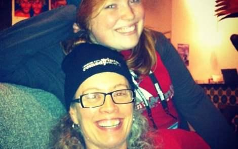 Managing Editor Erin Bernhard and mom