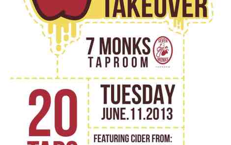 Michigan Hard Cider Takeover at 7 Monks Taproom