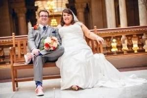 Big Ben and his lovely bride Slick LaRoo.