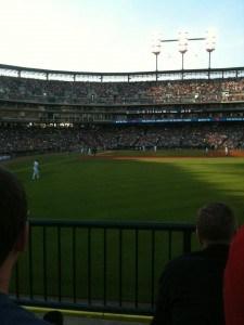 Tigers right field