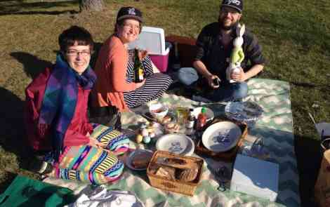 How to Picnic in the D (When You're Used to Gorgeous West Michigan)
