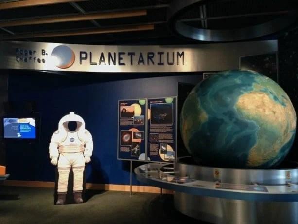 The Newly Renovated Roger B Chaffee Planetarium The