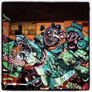 Street art in Eastern Market. Photo courtesy of Rachell Weeks.