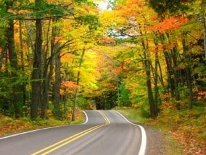 Driving through Brooklyn-Irish Hills in Fall - Courtesy of Brooklyn-Irish Hills Chamber of Commerce