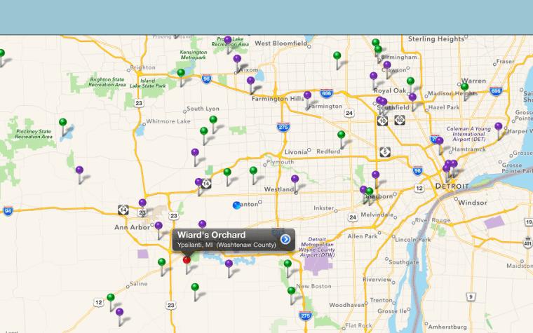 Michigan mobile apps