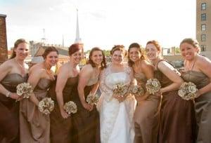 Bella Notte Rooftop Stott Wedding by Stacy & Adam Meadows