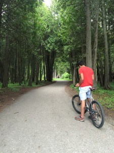 Biking on Mackinac Island - #MittenTrip - The Awesome Mitten