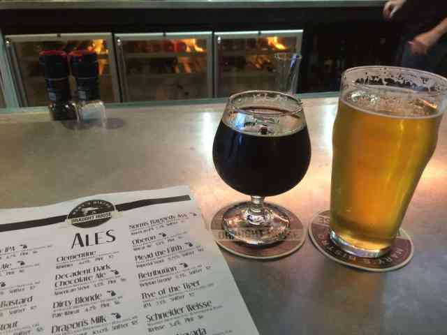 New Holland beers at The Draught House - Mackinac Island - #MittenTrip - The Awesome Mitten
