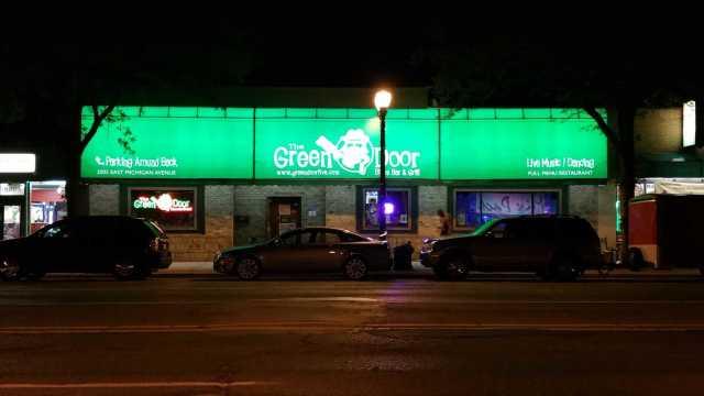 Green Door - #MittenTrip Lansing - The Awesome Mitten
