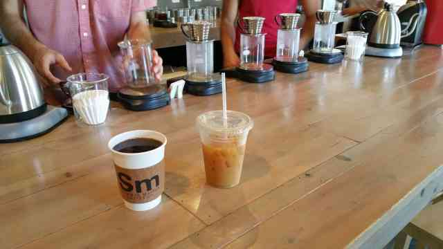 Strange Matter Coffee - #MittenTrip Lansing - The Awesome Mitten