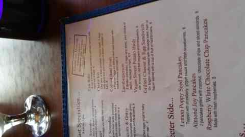 Menu at the Cherie Inn - #MittenTrip - GrandRapids