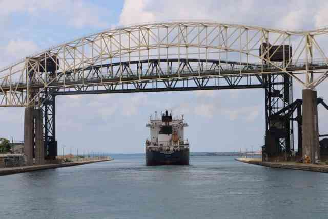 Soo Locks - #MittenTrip - Sault Ste Marie - The Awesome Mitten