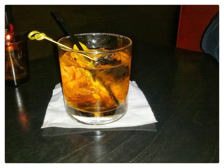 An old fashioned at the Sardine Room in Plymouth. Photo by Tim Chilcote - Awesome Mitten