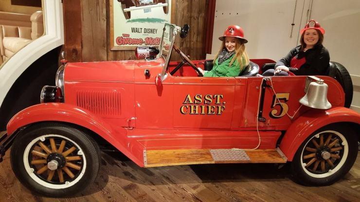 Vintage Fire Engine - Awesome Mitten Kalamazoo #MittenTrip