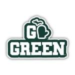 MSU Go Green Sticker