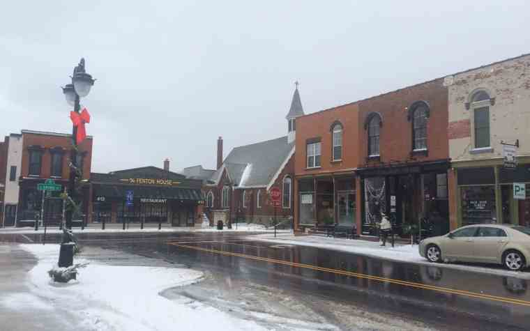 Downtown Fenton. Photo courtesy of Katie Nicpon