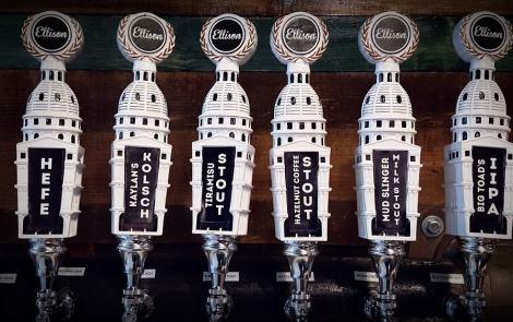 Must Visit In East Lansing: Ellison Brewery + Spirits