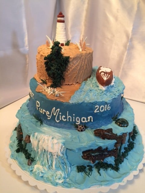 The Sugar Bowl Bakery - Michigan Birthday Bakeoff - The Awesome mitte